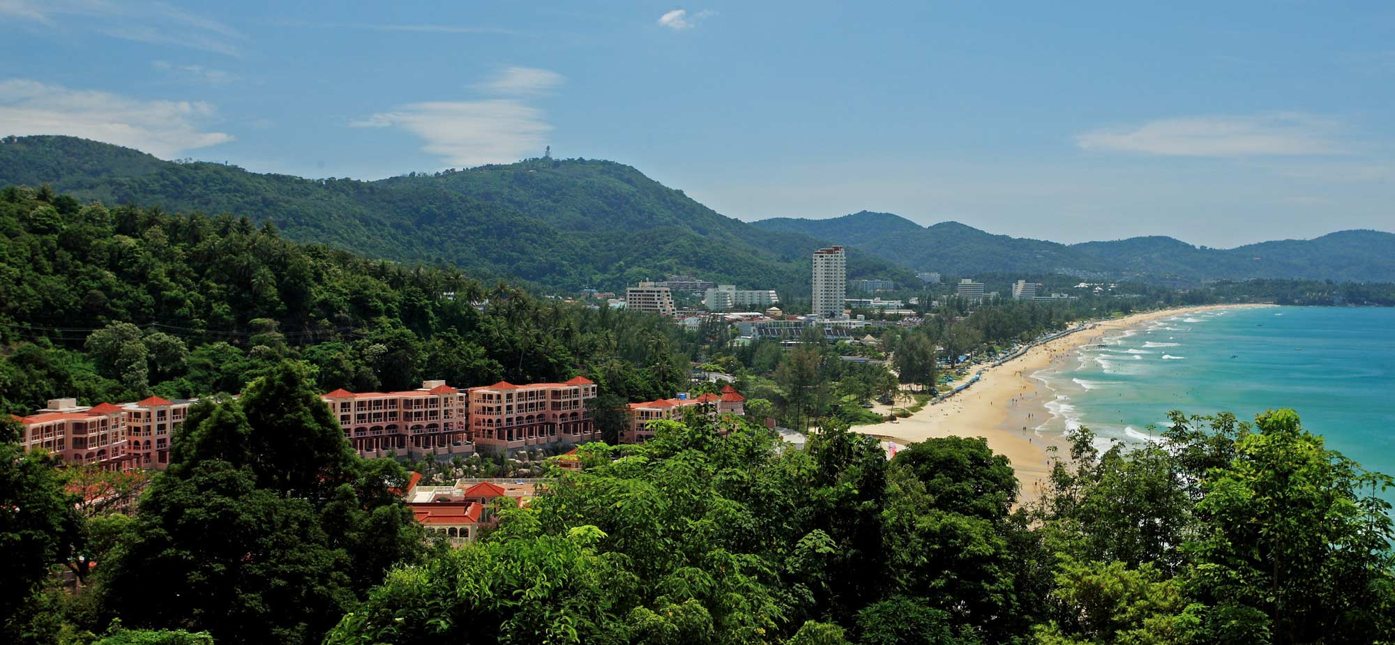 phuket beach hotel Le meridien phuket beach resort straddles beautiful relax bay - an exclusive  beach just north of karon.